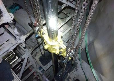 Installation of Penstock Rods